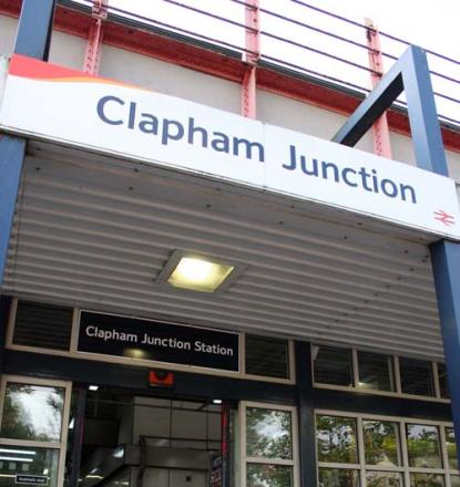 Lightning strike: Clapham Junction