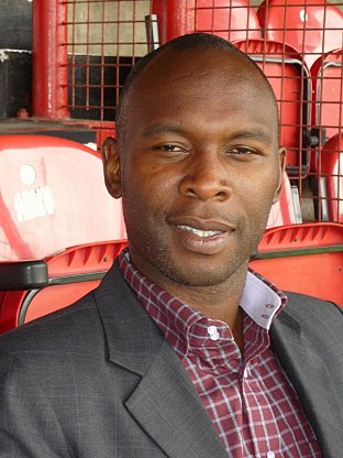 Chief: Bees director of youth football development Ose Aibangee.