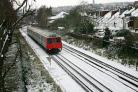 Freezing: South West Trains will run a 'special timetable' today due to severe weather