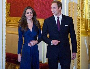 Charity offer: Kate Middleton with husband-to-be Prince William. Image: Evening Standard