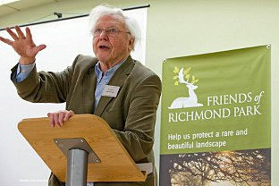 Address: Sir David Attenborough steps up as Friends of Richmond Park marks golden anniversary