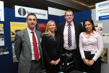 Richmond's businessmen and women turned out in force for the borough-wide Business Expo.