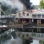 "Richmond and Twickenham Times: ""Fierce fire"" engulfs Marlow Rowing Club"