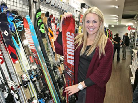 Councillors propose naming new Surbiton street after Twickenham ski star Chemmy Alcott