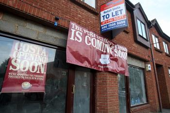 Richmond and Twickenham Times: Costa has begun fitting out a new cafe in Straight Bit