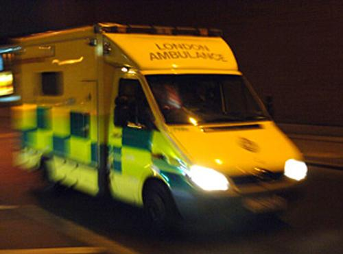 Man thrown from car in A316 crash