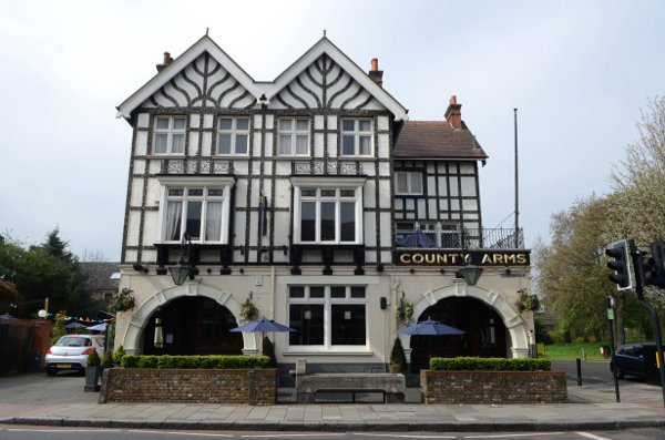 The County Arms in Trinity Road, Wandsworth