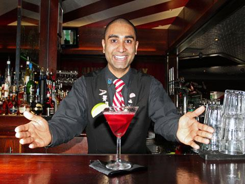 Croydon bartender Priyan Amin is set to mix it with the best