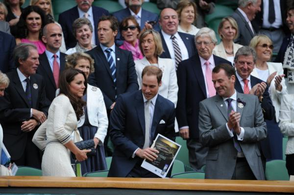 The Duke and Duchess are regular visitors to Wimbledon