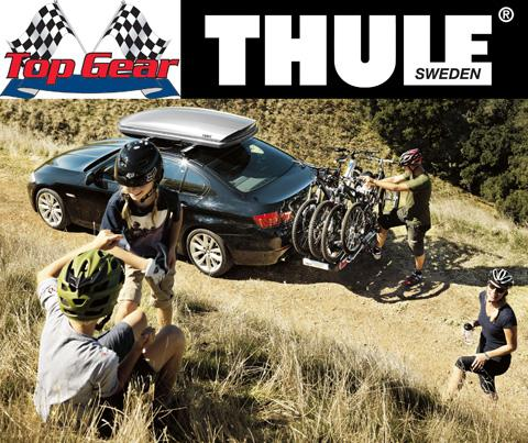 WIN! A Thule cycle carrier and roof box with Top Gear Sales ltd