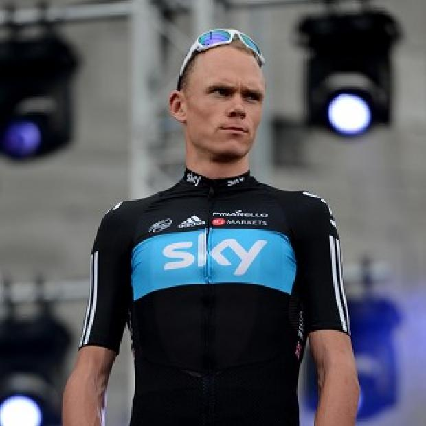 Chris Froome (pictured) has moved behind team-mate Bradley Wiggins in the overall standings