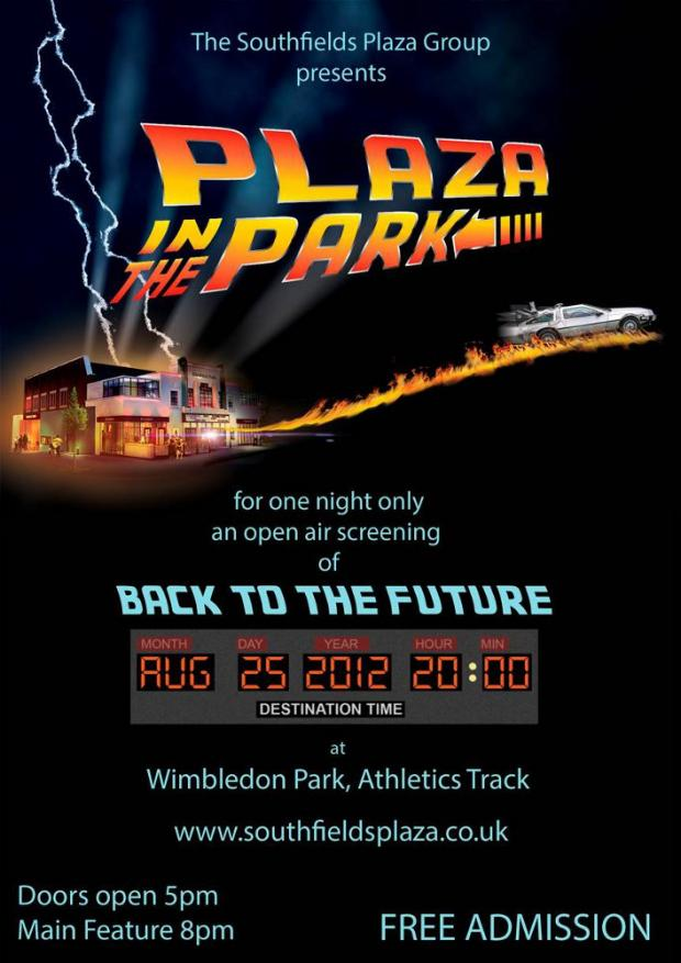 Cinema campaigners to host free Back to the Future screening