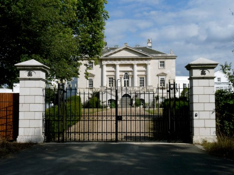 Majestic: The Royal Ballet School's White Lodge, in Richmond Park, is a grade I listed building