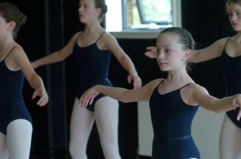 Uncertain: The ballet school needs to raise more money after cuts