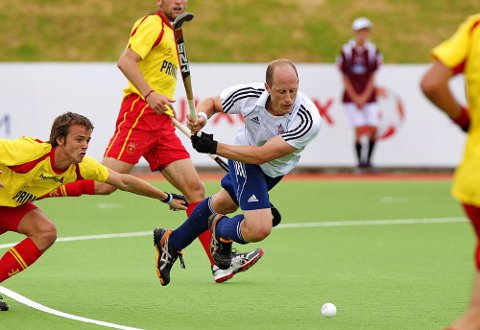 Ben Hawes in action for Great Britain