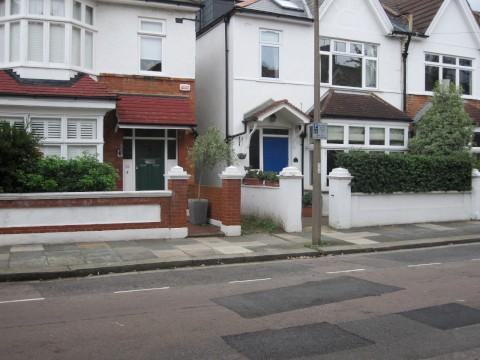 Quiet street: Portman Avenue, East Sheen