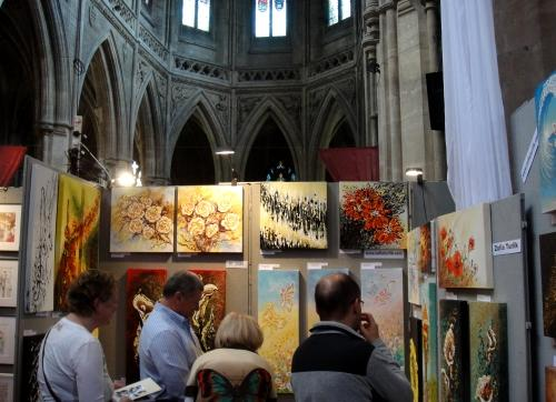 The Autumn Art Fair at Landmark Arts Centre last year