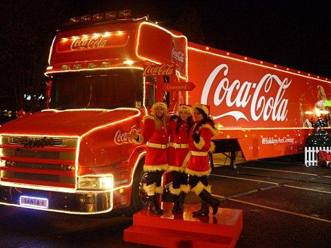 the iconic coca cola christmas truck with be visiting five locations in london for 2016 - Coca Cola Christmas Commercial