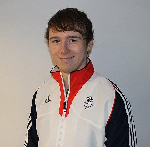 Silver shooter: Surbiton's Michael Bamsey pictured before his success with Team GB in Australia