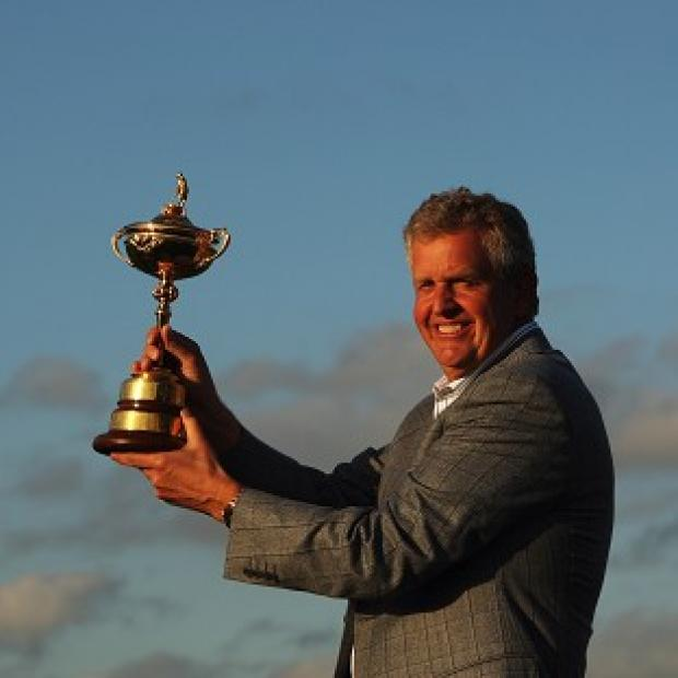 Colin Montgomerie led Europe to Ryder Cup victory in 2010