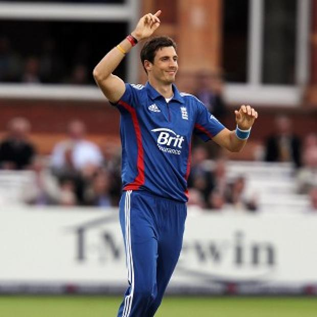 Steven Finn took an early wicket for England