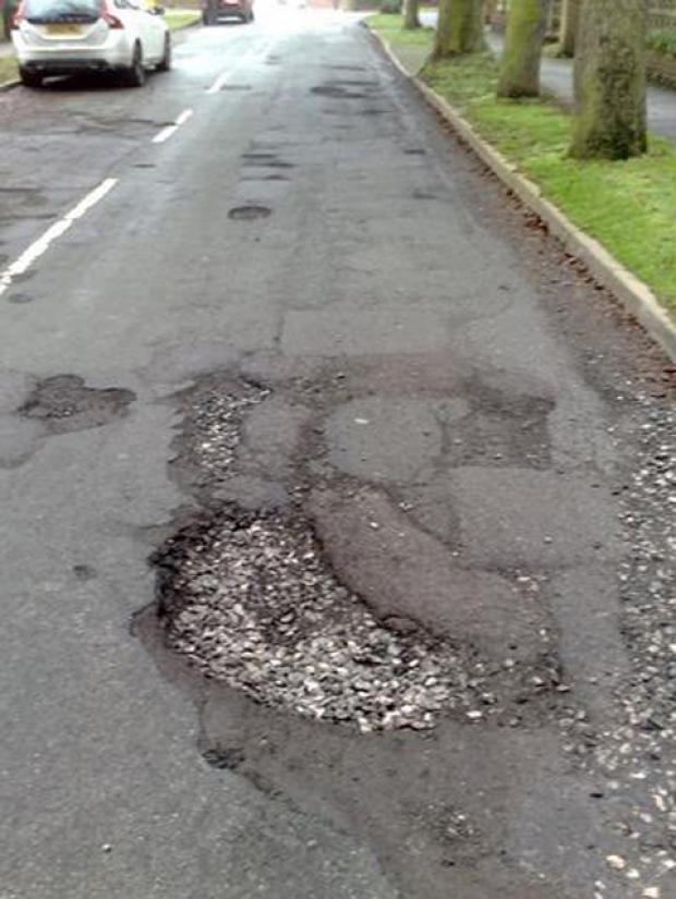 Hunt is on for Richmond's worst pothole