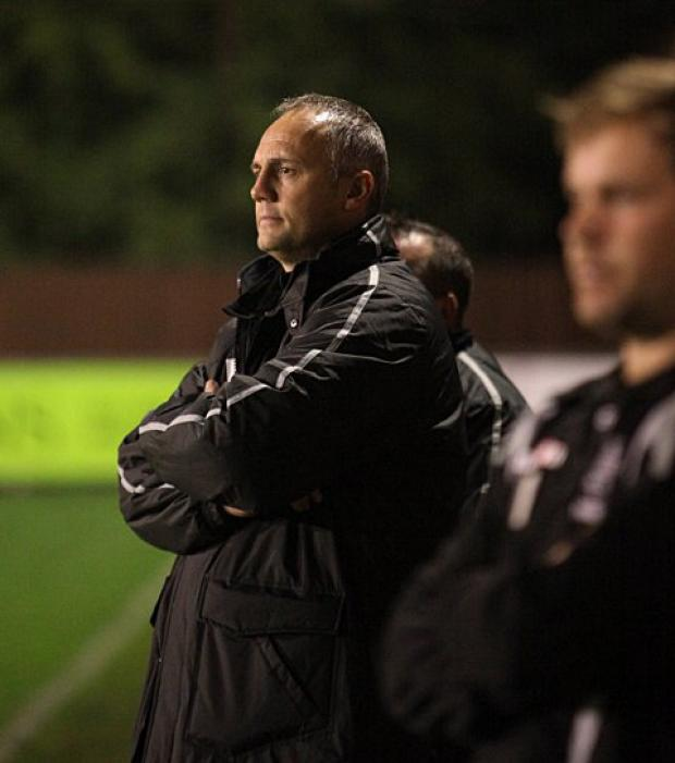 Feeling good: Hampton boss Mark Harper is confident he has addressed the Beavers slide