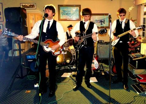 Pleased indeed: The Beatles recorded their first UK No1 in Teddington