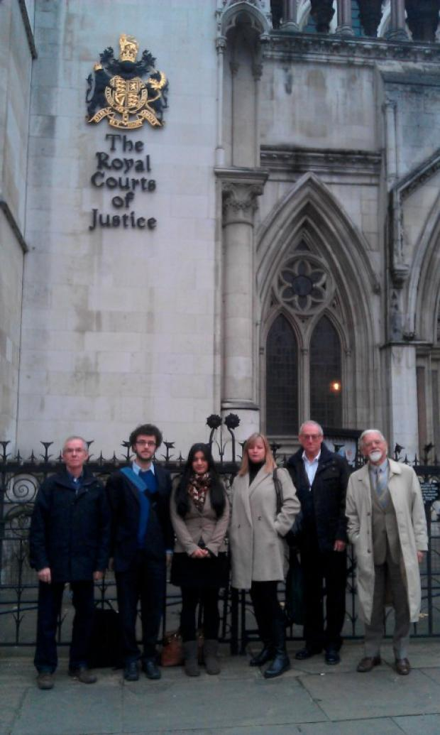 Challenge: The group was unsuccessful at the High Court