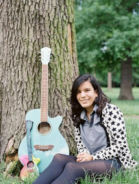 Talent: Bethany Perez, 15, loves the guitar