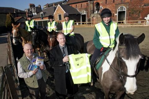 Neigh bad: Equestrians and safety staff