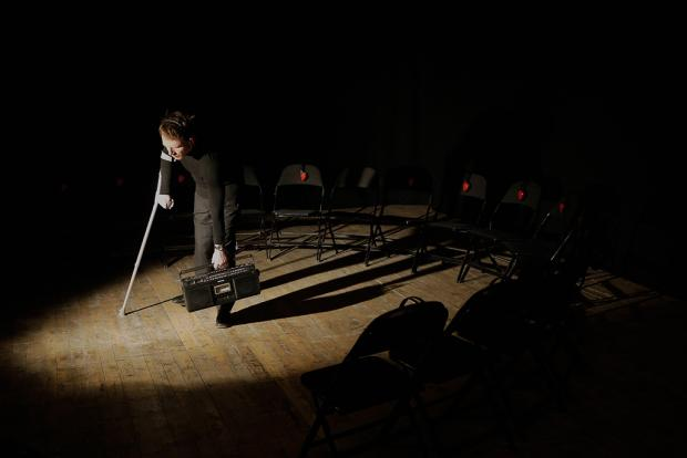 Show taking place in complete darkness at Battersea Arts Centre