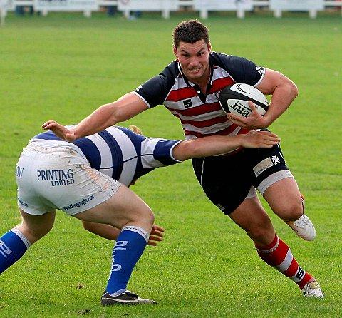 Rising star: Quins ace Joe Trayfoot, seen here in his Rosslyn Park days
