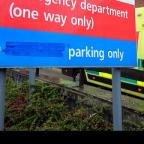 Queen's Hosptial in Burton-on-Trent had closed its accident and emergency department