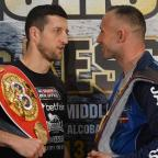 Carl Froch, left, was beaten by Mikkel Kessler, right, in 2010
