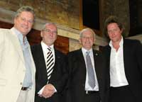 Peter Winter, Peter Hendy, Chris Hammond and Hugh Grant