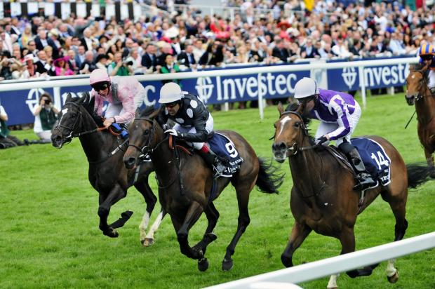Richmond and Twickenham Times: Horse racing at the Epsom Derby in 2012