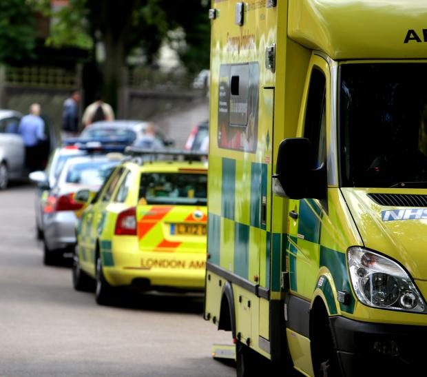 Ambulance crews were called to the scene as a precaution