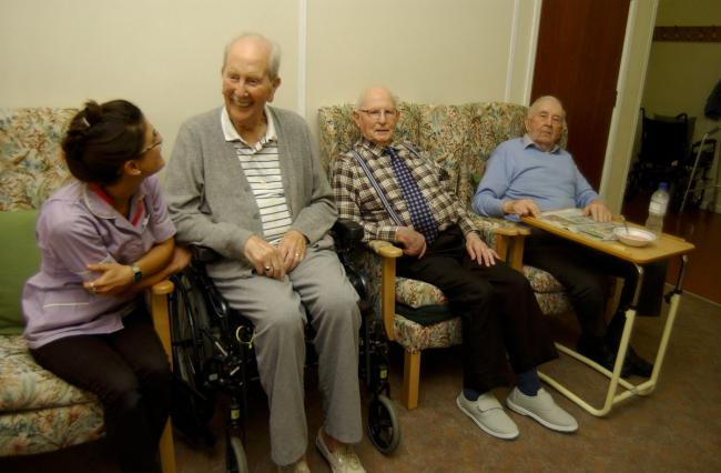 Caring: The centre will improve facilities for people with dementia