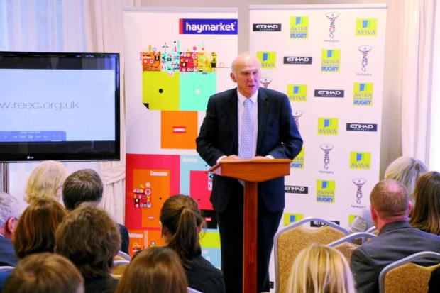 Vince Cable: Backing the initiative