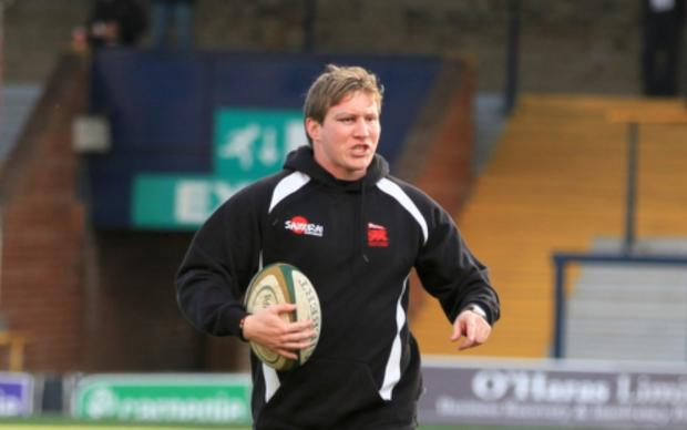 Long-term agenda: Ollie Smith at London Welsh