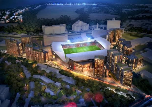 Richmond and Twickenham Times: New image: How the stadium development could look