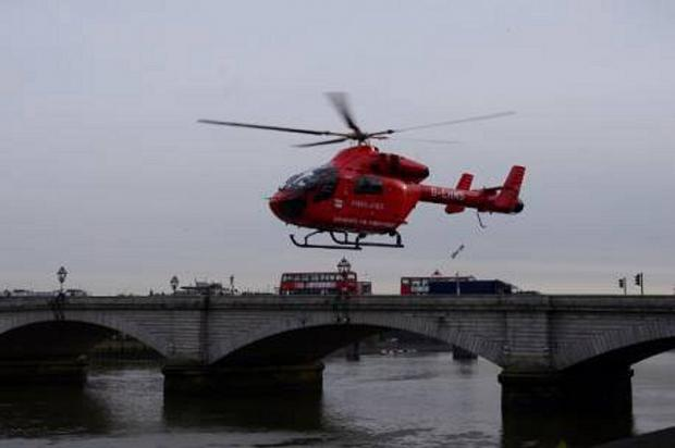 London's Air Ambulance launches fundraising campaign on 25th anniversary