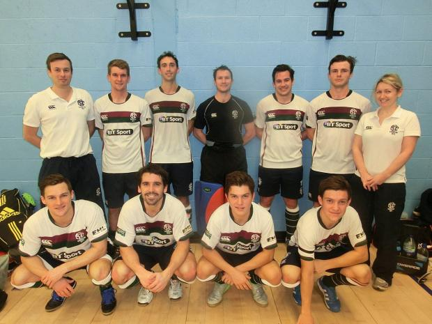 Dream team: The Surbiton indoor squad in Bristol