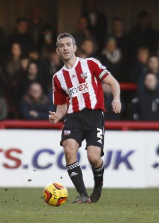 Comeback: Club captain Kevin O'Connor remains in talks with Brentford over his immediate future