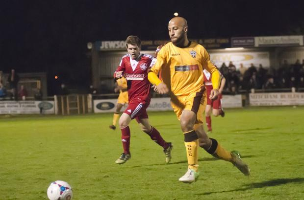 What d'you know? Dale Binns has scored for Sutton United     SP80484