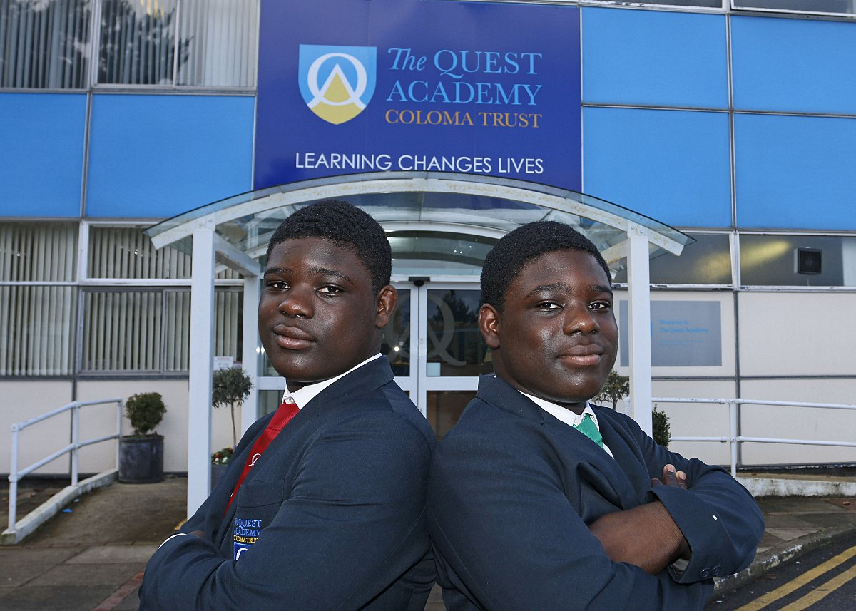 Croydon rugby twins tipped for the top