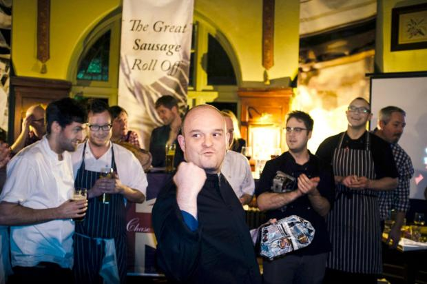 Sausages: Editor David Rankin will be on hand