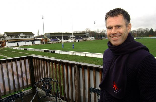 Going nowhere: London Scottish director Kenny Logan says the club will not take any decision to leave Richmond lightly because it is the only place he believes the club can sustain itself financially 	SP82440