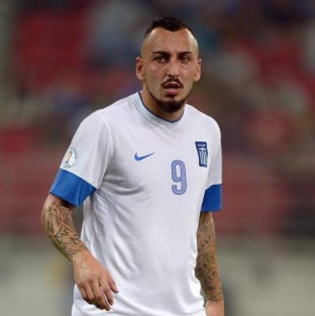 Richmond and Twickenham Times: Kostas Mitroglou will play for Greece at the 2014 World Cup
